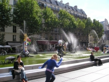 Fontaine Stravinsky à Paris